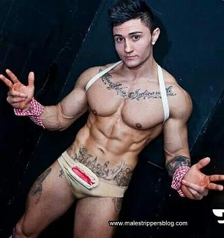 male striptease