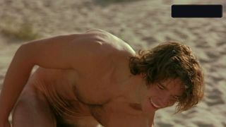 Cheeky naked scene