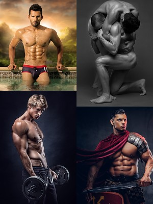 male photo art