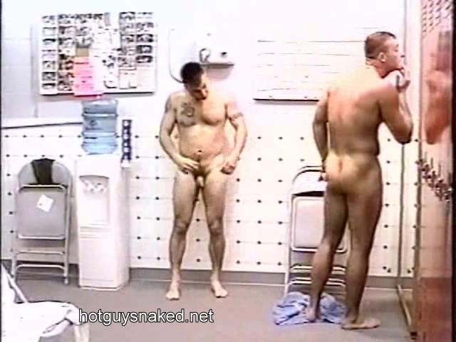 boner in locker room