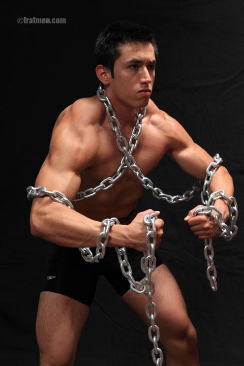 FratmenTV model Eddie naked photo gallery
