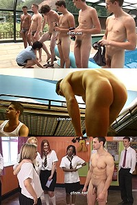 naked guys CFNM