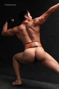 FratmenTV model Eddie in sexy position
