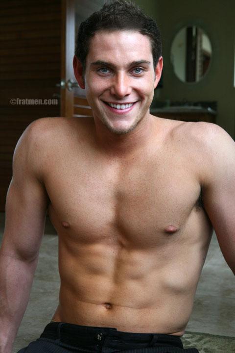 Sexy muscle Fratmen model Adrian