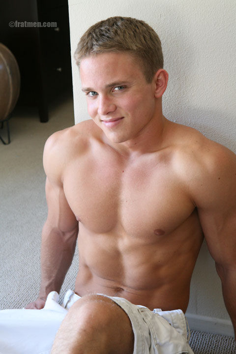 handsome muscle boy