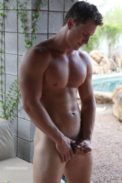 Fratmen TV model Clayton with big dick
