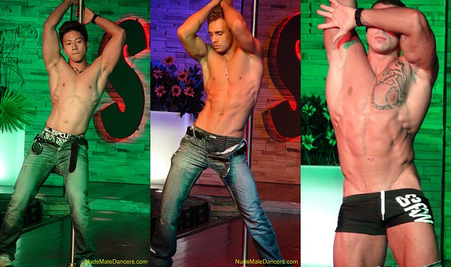 hot guys at nude male dancers