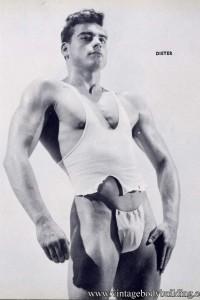 Sexy bodybuilder