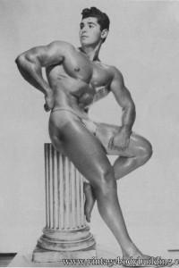 Nude bodybuilder vintage erotica