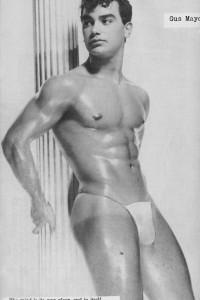 seducing muscle guy