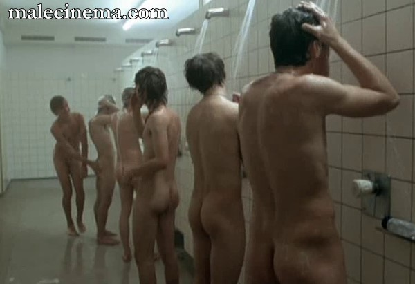 male showers spy cam