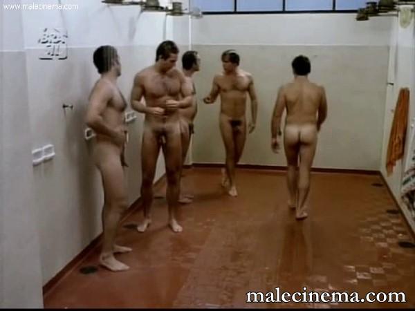 other men showering