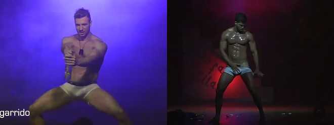 Venezuelan male strippers