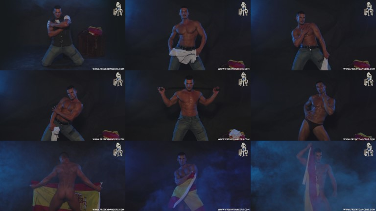 male stripper video