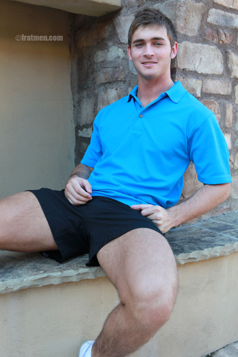 well-build legs of hot man