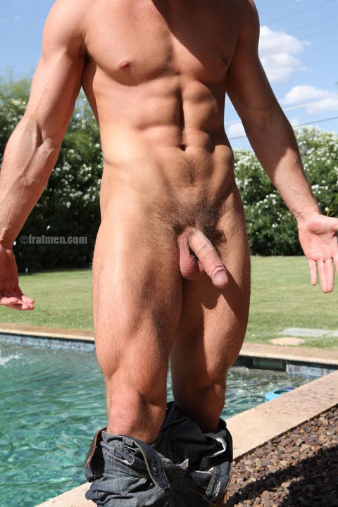 hot handsome man naked