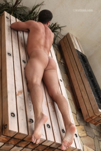 smooth male ass