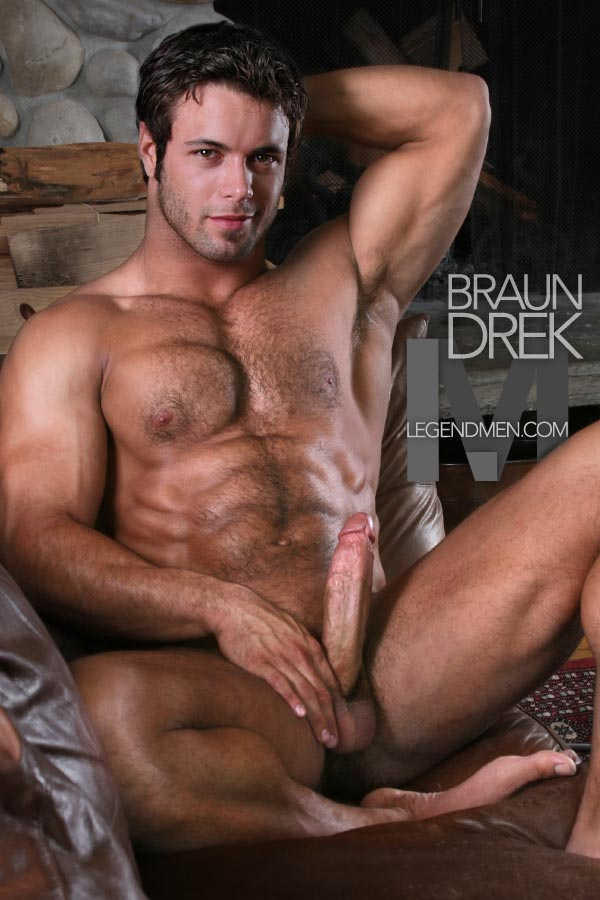 hunk with erection