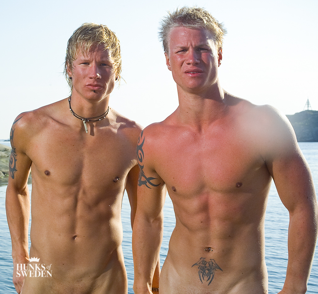 Swedish muscle men naked