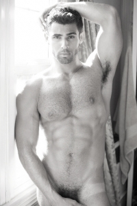 hairy armpits man