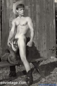 Charming man naked