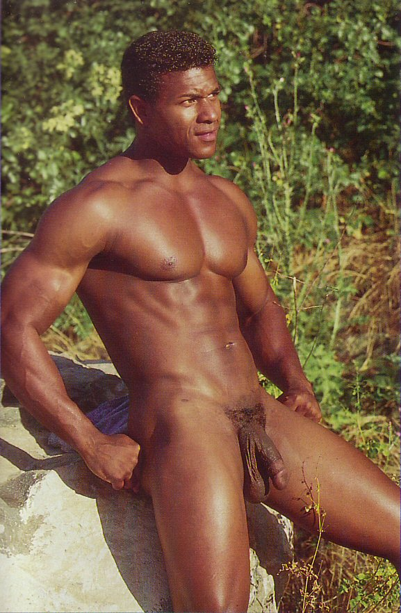 muscle black hunk big cock