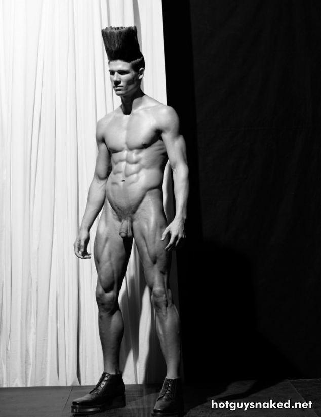 naked model man