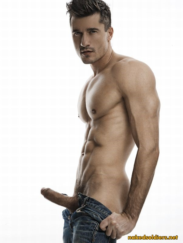 big dick male model