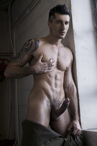 big cock muscle man