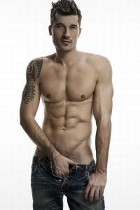male fashion model naked