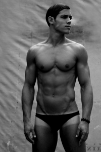 Carlos Freiere Brazilian model