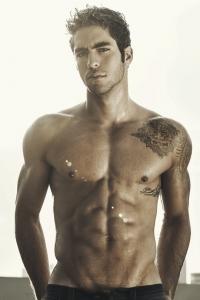 charming male model