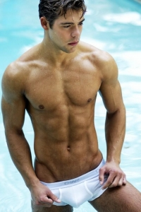 hot muscle guy