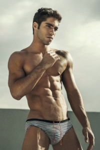 Fitness male model from Brazil