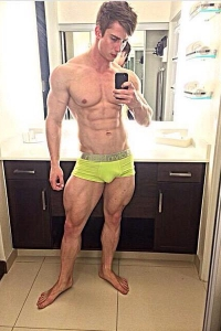 muscle man nude