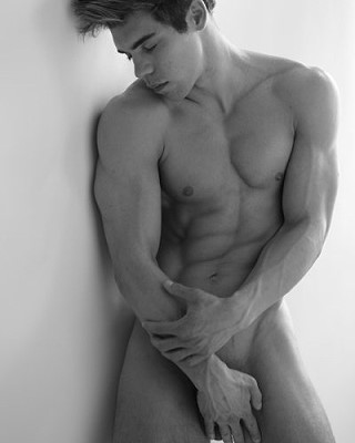 charming muscle guy