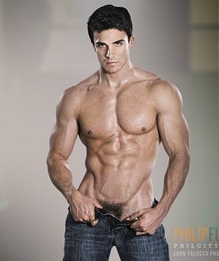 stunning man naked