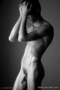 slim boy nude