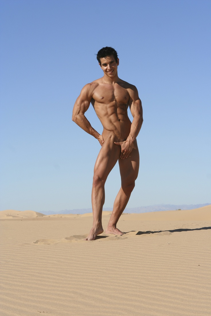 male nudist naked