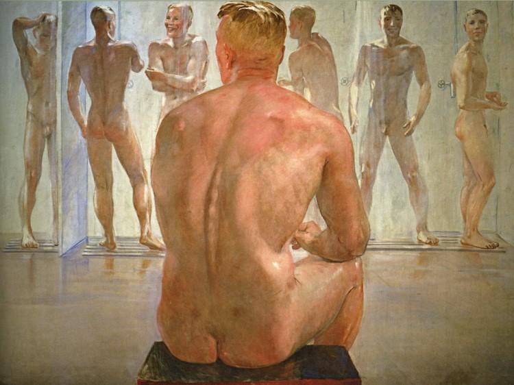soldiers gay art