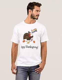 gay thanksgiving tshirt