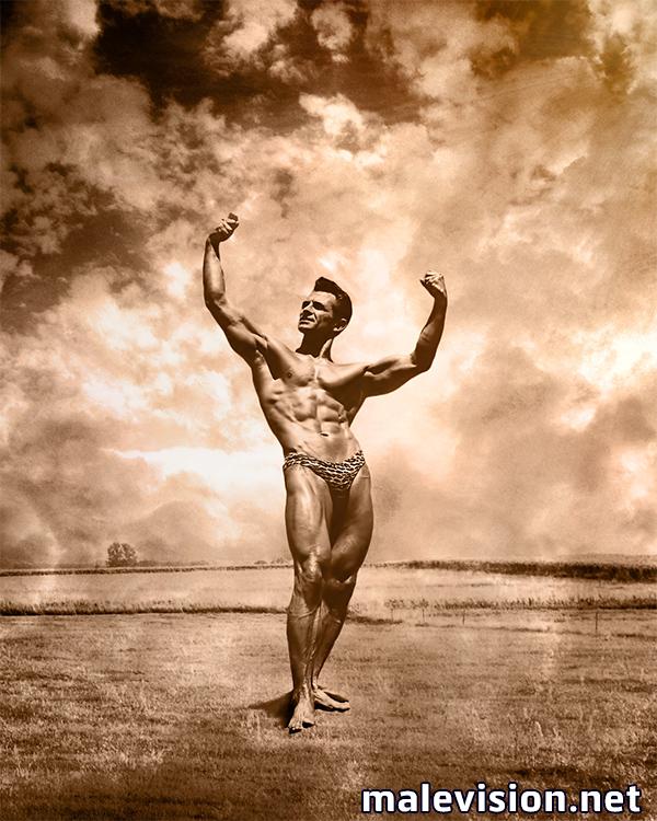 bodybuilder fine art