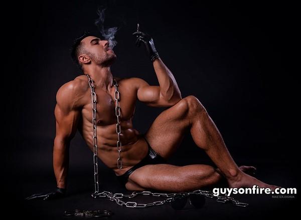 Dominant gay bdsm video