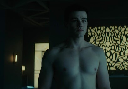 Joshua Orpin shirtless Titans