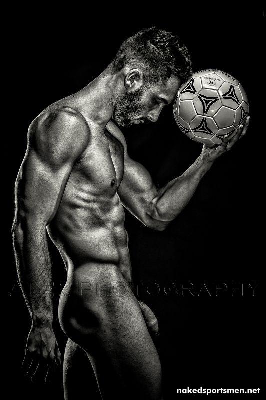 Naked fotballer by Alexander Schmitt