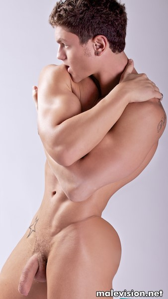 Naked model by Jeff Thomas