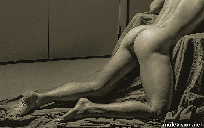 Sexy male butt by David Vance