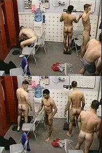 naked guys locker room